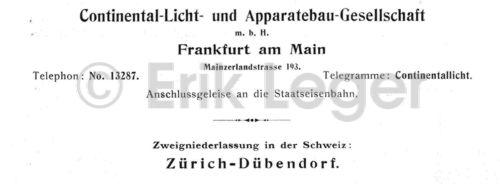 Aus Katalog 1910