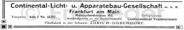Werbung von 1913