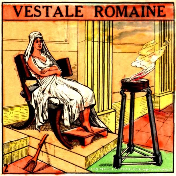 vestale romaine