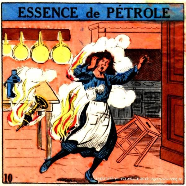 essence de pétrole