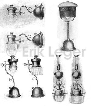 Zusammenstellung: Verschiedene Ideal-Lampen