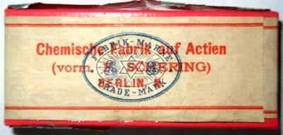Packung Schering'scher Formalinpastillen Bild 1