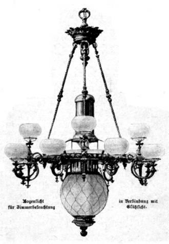 Elektrische Bogenlampe