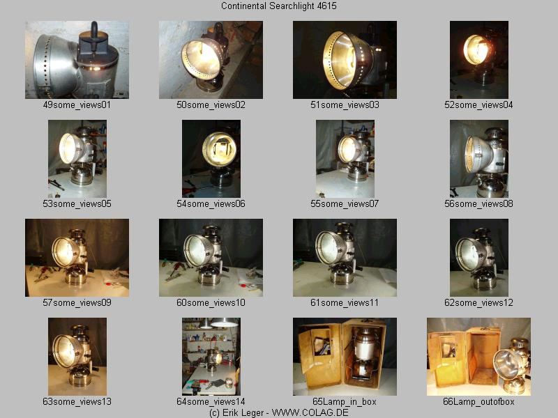 4th page of thumbnail images of the Continental Searchlight 4615