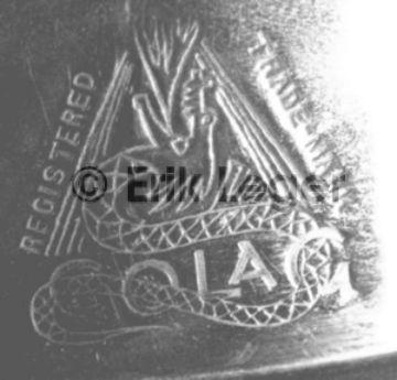 COLAG Logo auf Lampe